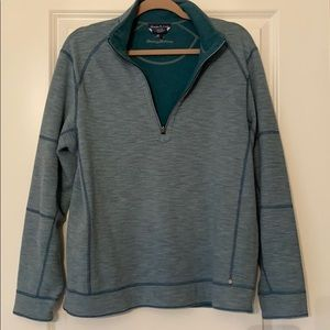 Tommy Bahamas Teal Cotton Sweater sz M